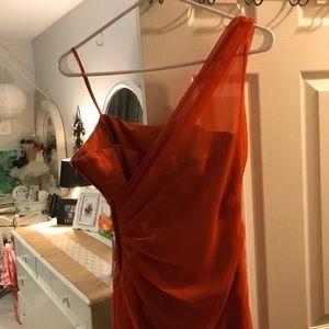 Jordan Dresses - Beautiful orange formal dress!!